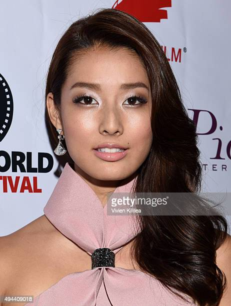 Actress Sumire Matsubara attends the Asian World Film Festival Opening Night Red Carpet Awards Gala And Film at The Culver Hotel on October 26 2015...