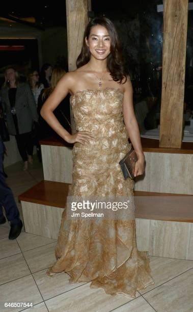 Actress Sumire Matsubara attends the world premiere after party for 'The Shack' hosted by Lionsgate at Gabriel Kreuther on February 28 2017 in New...