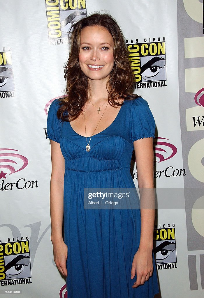 Summer Glau 2020.Actress Summer Glau Attends The 2008 Wondercon Day 3 At The