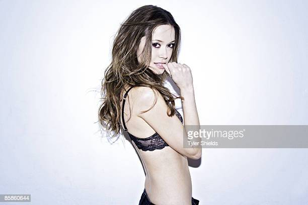 Actress Summer Glau is photographed for a Self Assignment