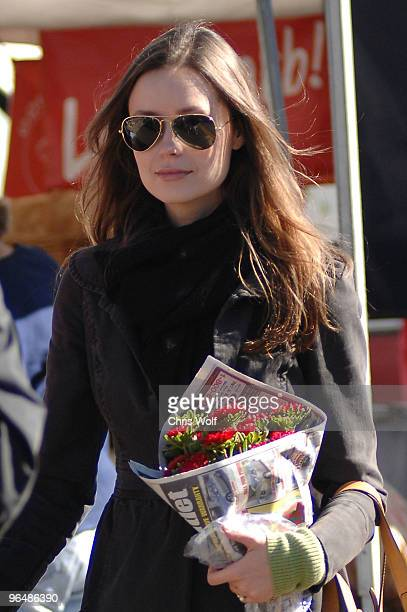 Actress Summer Glau sighting on February 7 2010 in Los Angeles California