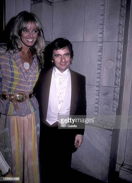 Actress Susan Anton and actor Dudley Moore attend Dudley Moore's Piano Recital on June 6 1983 at Carnegie Hall in New York City