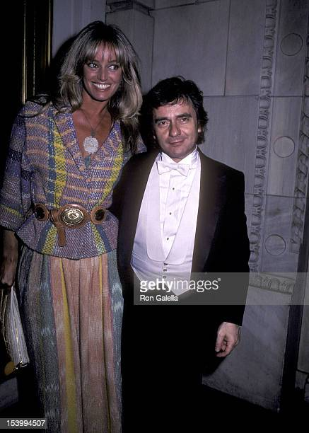 Actress Susan Anton and actor Dudley Moore attend Dudley Moore's Piano Recital on June 6, 1983 at Carnegie Hall in New York City.