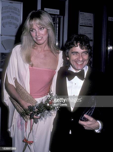 Actress Susan Anton and actor Dudley Moore attend the American Ballet Theatre's Opening Night Performance of 'LA Bayadere' on January 26 1981 at the...