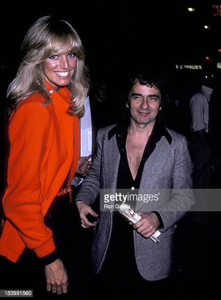 Actress Susan Anton and Dudley Moore attend a performance of the Broadway musical It's So Nice to Be Civilized on May 30 1980 at the Martin Beck...