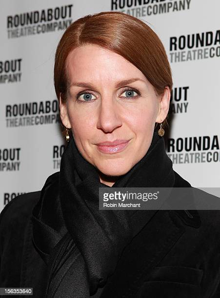 Actress Susan Blackwell attends the 'The Mystery Of Edwin Drood' Broadway Opening Night at Roundabout Theatre Company's Studio 54 on November 13 2012...