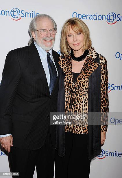 Actress Susan Blakely and producer Steve Jaffe attend the 2014 Operation Smile Gala at the Beverly Wilshire Four Seasons Hotel on September 19 2014...