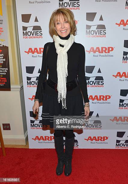 Actress Susan Blakely arrives to AARP The Magazine's 12th Annual Movies for Grownups Awards Luncheon at Peninsula Hotel on February 12 2013 in...
