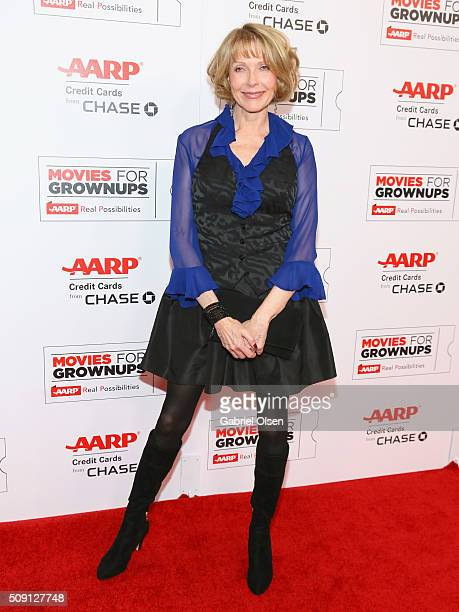 Actress Susan Blakely attends AARP's 15th Annual Movies For Grownups Awards at the Beverly Wilshire Four Seasons Hotel on February 8 2016 in Beverly...