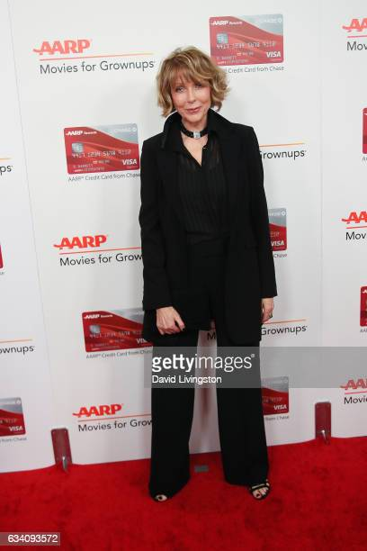 Actress Susan Blakely attends the AARP's 16th Annual Movies for Grownups Awards at the Beverly Wilshire Four Seasons Hotel on February 6 2017 in...