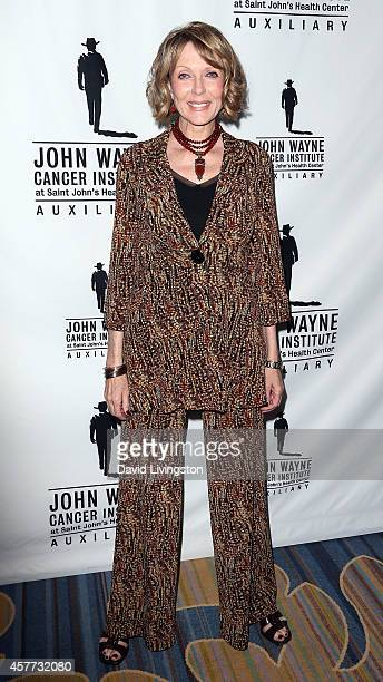 Actress Susan Blakely attends the John Wayne Cancer Institute Luncheon at the Beverly Wilshire Four Seasons Hotel on October 23 2014 in Beverly Hills...
