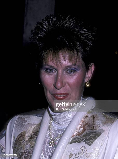 Actress Susan Clark attends 25th Anniversary Party for Amnesty International on September 15 1986 at the Beverly Hilton Hotel in Beverly Hills...