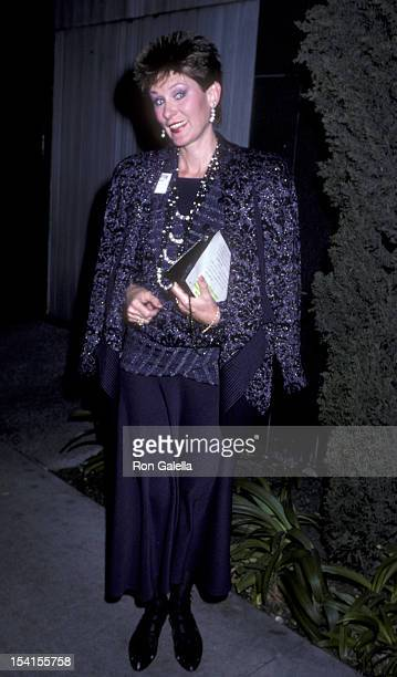 Actress Susan Clark attends 26th Anniversary Party for NOW on December 1 1986 at the Dorothy Chandler in Los Angeles California