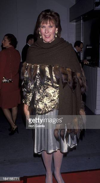 Actress Susan Clark attends Fourth Annual Legacy Awards Honoring Stella Adler on January 9 1993 at the Hollywood Palladium in Hollywood California