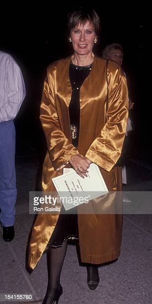 Actress Susan Clark attends the premiere of City Of Angels on June 5 1991 at the Shubert Theater in Century City California