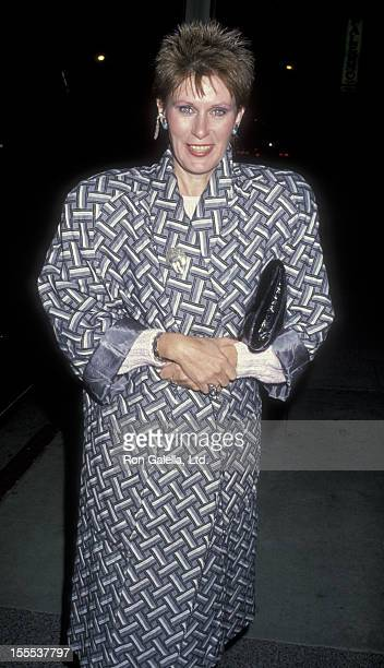 Actress Susan Clark attends the screening of Charlie Hannah on April 10 1986 at the Director's Guild Theater in Hollywood California