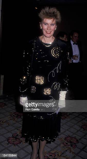 Actress Susan Clark attends WAIF Humanitarian Awards on February 8 1989 at the Century Plaza Hotel in Century City California