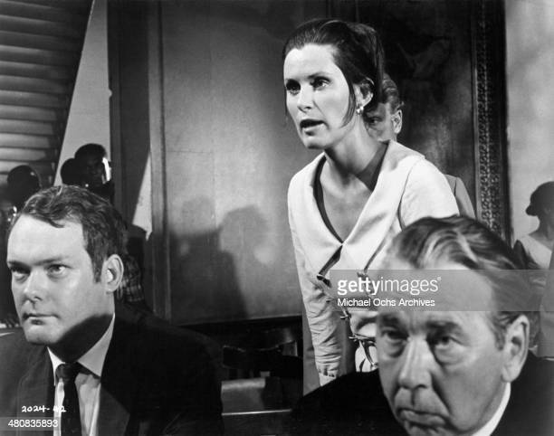 Actress Susan Clark in a scene from the movie Skullduggery circa 1970