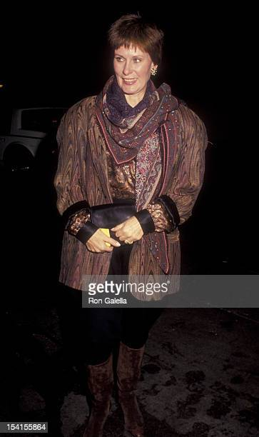 Actress Susan Clark sighted on November 16 1990 at the Orso Restaurant in Beverly Hills California