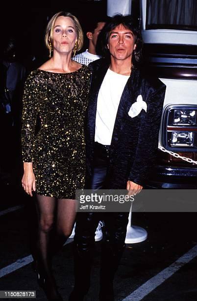 Actress Susan Dey and Actor David Cassidy at the 1990 MTV Video Music Awards at in Los Angeles California