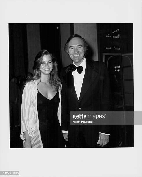 Actress Susan Dey and her husband Leonard Hirshan attending a dinner honoring actor Henry Kissinger hosted by the National Conference of Christians...