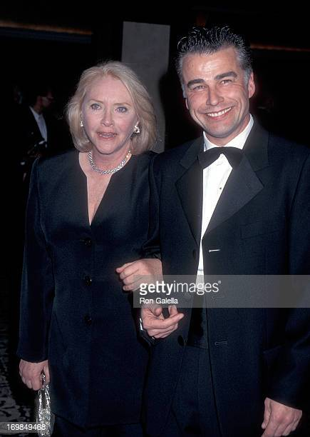 Actress Susan Flannery and actor Ian Buchanan attend the 48th Annual Directors Guild of America Awards on March 2 1996 at the Century Plaza Hotel in...
