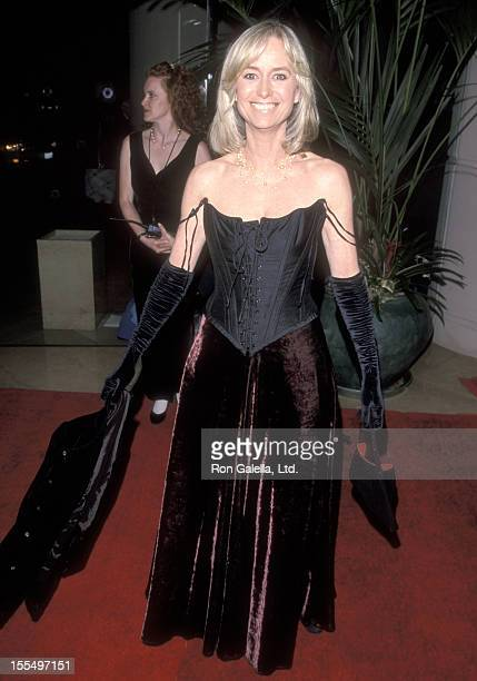 Actress Susan George attends the 27th Annual American Film Institute Lifetime Achievement Award Salute to Dustin Hoffman on February 18 1999 at...