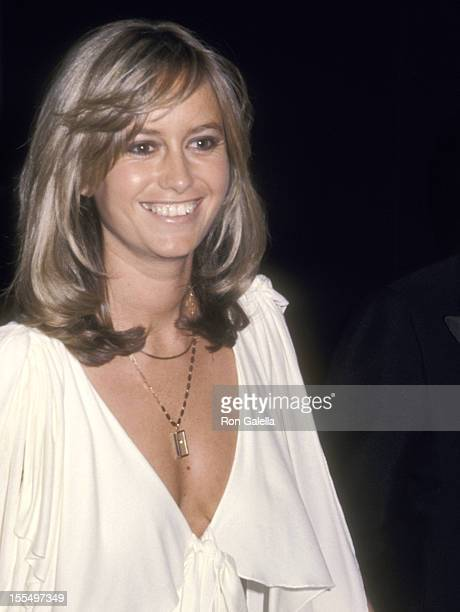 Actress Susan George attends the 47th Annual Academy Awards on April 8 1975 at Dorothy Chandler Pavilion in Los Angeles California