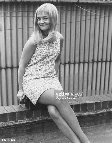 Actress Susan Hanson who plays Diane Lawton in TV's 'Crossroads' August 1967