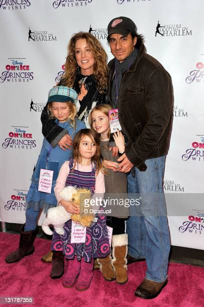Actress Susan Haskell and family attend Disney On Ice's 'Princess Wishes' opening night at Madison Square Garden on January 21 2011 in New York City