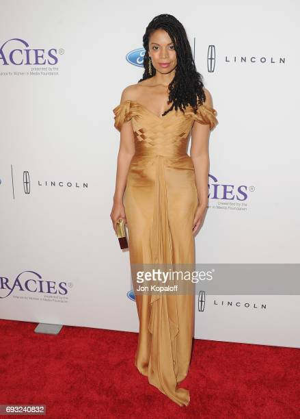 Actress Susan Kelechi Watson arrives at the 42nd Annual Gracie Awards at the Beverly Wilshire Four Seasons Hotel on June 6 2017 in Beverly Hills...