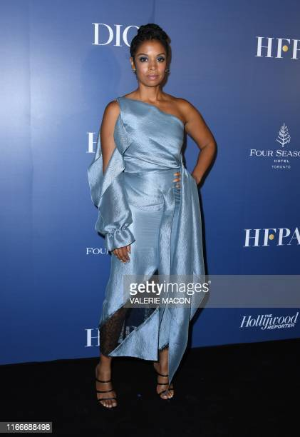 US actress Susan Kelechi Watson arrives for the Hollywood Reporter and the Hollywood Foreign Press Associations annual event celebrating the 2019...