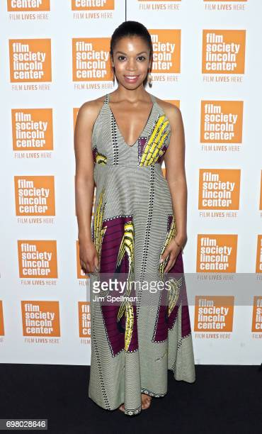 Actress Susan Kelechi Watson attends An Evening For Film In Education hosted by the The Film Society of Lincoln Center at Walter Reade Theater on...