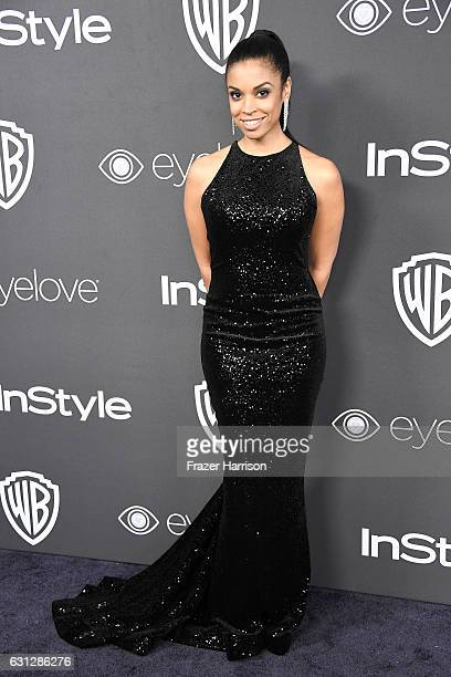 Actress Susan Kelechi Watson attends the 18th Annual PostGolden Globes Party hosted by Warner Bros Pictures and InStyle at The Beverly Hilton Hotel...