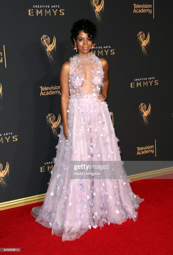 Actress Susan Kelechi Watson attends the 2017 Creative Arts Emmy Awards at Microsoft Theater on September 9, 2017 in Los Angeles, California.