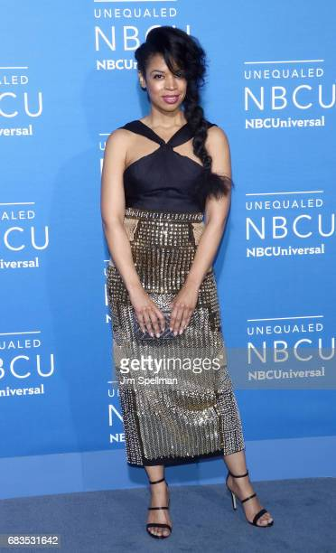 Actress Susan Kelechi Watson attends the 2017 NBCUniversal Upfront at Radio City Music Hall on May 15 2017 in New York City