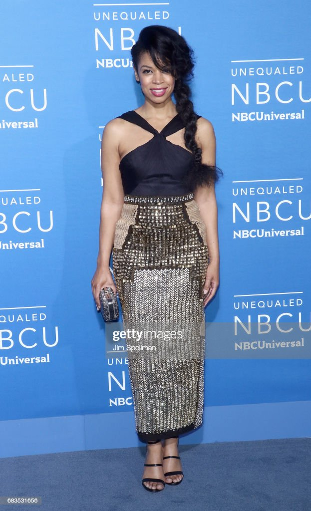 Actress Susan Kelechi Watson attends the 2017 NBCUniversal Upfront at Radio City Music Hall on May 15, 2017 in New York City.