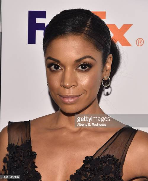 Actress Susan Kelechi Watson attends the 49th NAACP Image Awards NonTelevised Award Show at The Pasadena Civic Auditorium on January 14 2018 in...