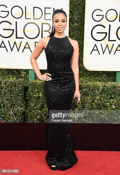 Actress Susan Kelechi Watson attends the 74th Annual Golden Globe Awards at The Beverly Hilton Hotel on January 8 2017 in Beverly Hills California