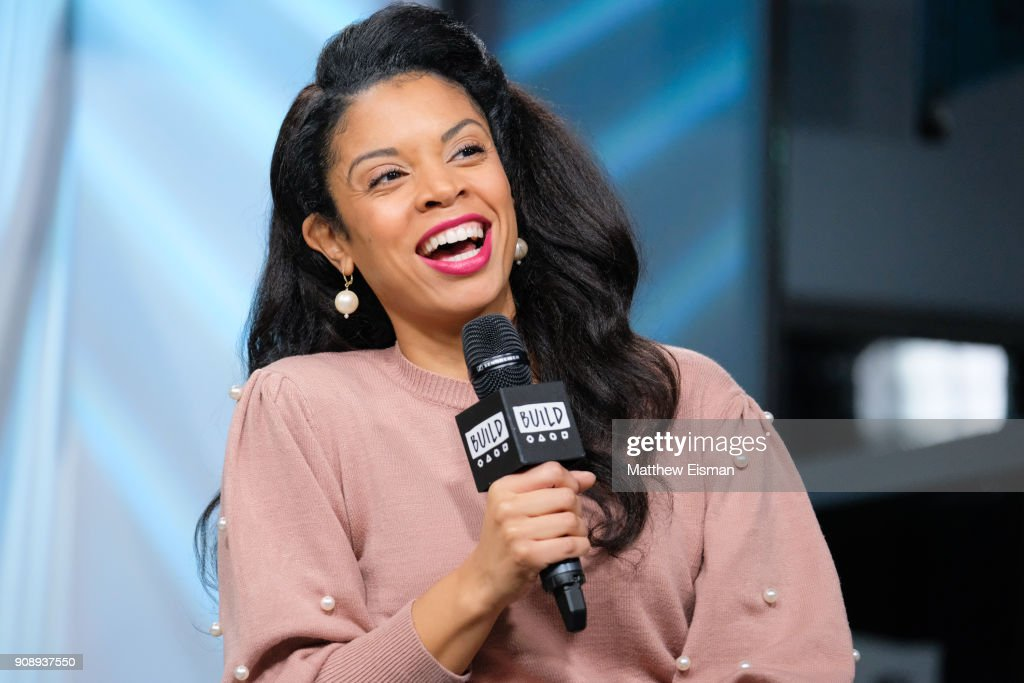 Actress Susan Kelechi Watson attends the Build Series to discuss 'This Is Us' on January 22, 2018 in New York City.