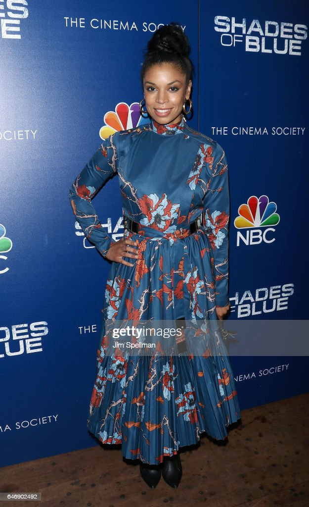 Actress Susan Kelechi Watson attends the season 2 premiere of 'Shades Of Blue' hosted by NBC and The Cinema Society at The Roxy on March 1, 2017 in New York City.