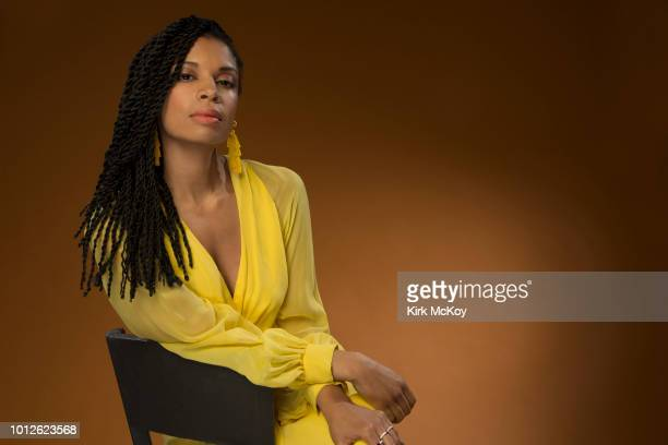 Actress Susan Kelechi Watson is photographed for Los Angeles Times on April 17, 2018 in Los Angeles, California. PUBLISHED IMAGE. CREDIT MUST READ:...