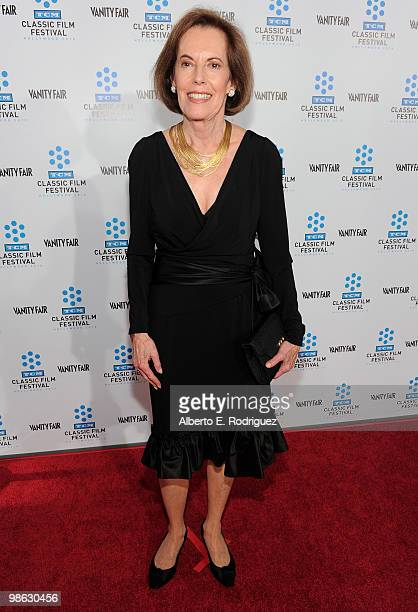 Actress Susan Kohner arrives at the TCM Classic Film Festival's gala opening night world premiere of the newly restored film A Star Is Born at...