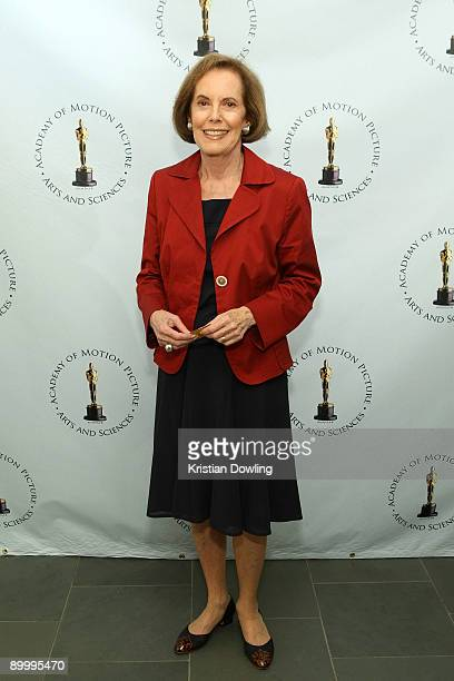 Actress Susan Kohner arrives for AMPAS's Imitation Of Life 50th Anniversary Screening at AMPAS Samuel Goldwyn Theater on August 21 2009 in Beverly...