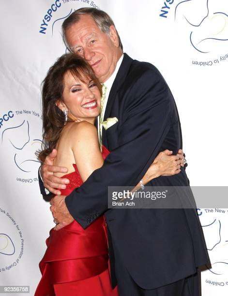 Actress Susan Lucci and husband Helmut Huber attend the 2009 Child Protection Agency's Gala at 583 Park Avenue on October 26 2009 in New York City