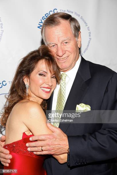 Actress Susan Lucci and husband producer Helmut Huber attend the 2009 Child Protection Agency's Gala at 583 Park Avenue on October 26 2009 in New...