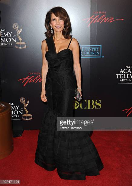 Actress Susan Lucci arrives at the 37th Annual Daytime Entertainment Emmy Awards held at the Las Vegas Hilton on June 27 2010 in Las Vegas Nevada