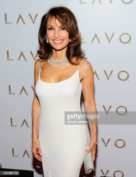 Actress Susan Lucci arrives at the 'All My Children' Daytime Emmy Post Award Celebration at Lavo on June 27 2010 in Las Vegas Nevada
