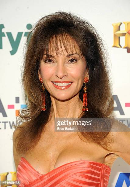 Actress Susan Lucci attends 2015 AE Networks Upfront on April 30 2015 in New York City