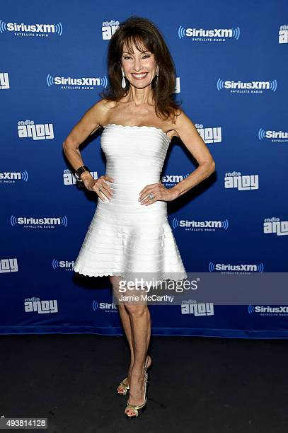 Actress Susan Lucci attends Andy Cohen SiriusXM celebrate the launch of Cohen's New Exclusive SiriusXM Channel Radio Andy at PHD Rooftop Lounge at...